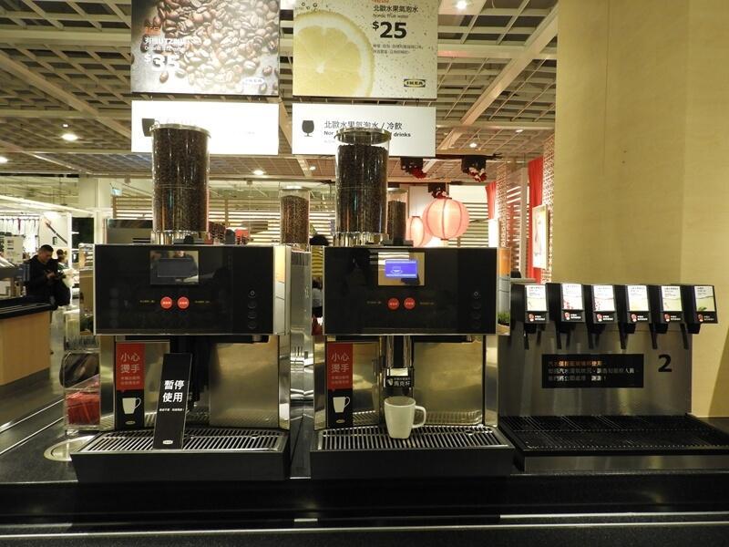 咖啡機與氣泡水機