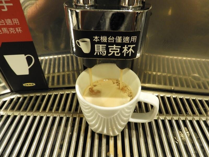 剛煮好的美式咖啡