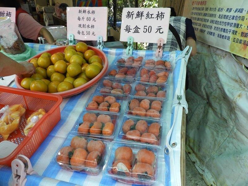 柿餅是一定要有賣的,紅柿水柿都有