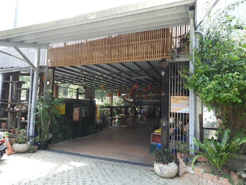 金漢杮餅教育農園的入口