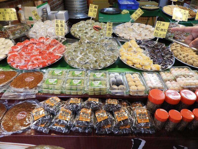 除了豆腐之外也有許多傳統美食