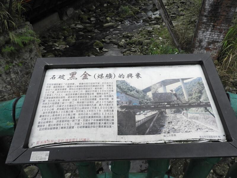 介紹石碇的煤礦業興衰