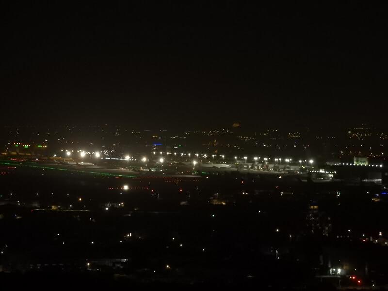 可以眺望桃園國際機場